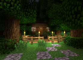 Wood Cutters Cottage Re-Loaded by DPrime123