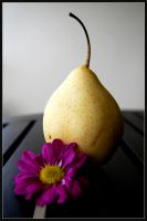 Pear and Flower. by Amblygon