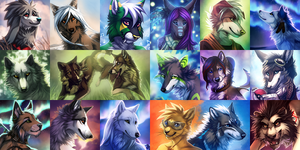 Icons Round 5 by Lhuin