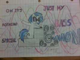 Oh its nothing special Just my Bass Cannon by EmOxFuRrYxRaVe