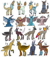 so many Adopts!! by Armzulite