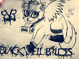 Black Veil Brides  kitty by XxsilvixX