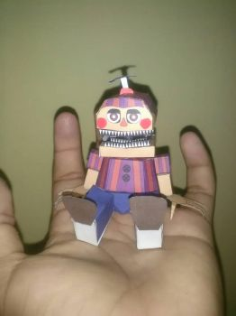 BB papercraft from adogopaper by leonardoterror