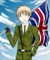 -APH- Raise My Flag by ohboyomi