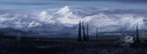 Denali park scene attempt 3 by andrekosslick