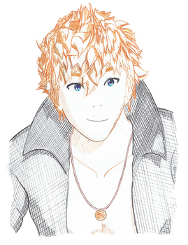 RWBY - Sun Wukong: Ink Cross-Hatch Remastered by Emperial-Dawn