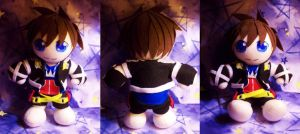 Sora Plushie by StrawberryParall