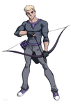 Hawkeye by LucianoVecchio