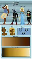 Grainians: Species sheet by Phooma12345