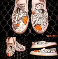 Shoes - Slam dunk by surfender