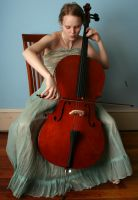 Cello 6 - playing by AttempteStock