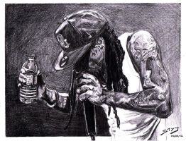Lil Wayne Sketch by styj