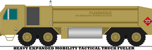 Heavy Expanded Mobility Tactical Truck Fueler by mcspyder1