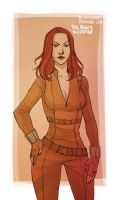 CA - Black Widow by the-evil-legacy