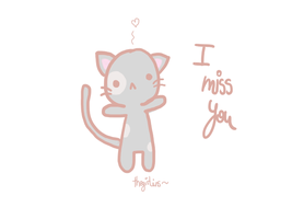 I miss you by Thegirlins