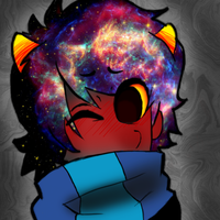 Karkat from outta space by LifeIsGoingOn