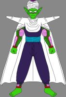Barefoot Embarrassed Piccolo Jr. 2 by DragonBallFan2012