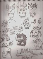 OFFICIAL SKETCHBOOK 2011-2015 Page 14 by CelmationPrince