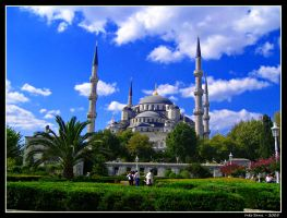 Blue mosque by chicaurbana