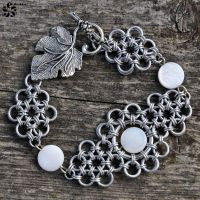 Metal lace bracelet by Jezerel