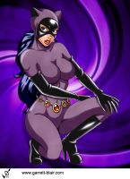 Catwoman 4 by Garrett Blair by Mythical-Mommy