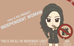 miss A Fei I Don't Need A Man Chibi by jinsuke04