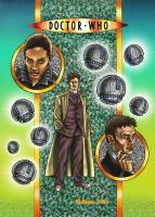 Doctor Who Cover coloured by Bungle0