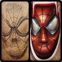 Spiderman Shoes by JordanMendenhall