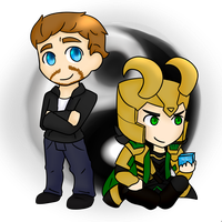 Tom And Loki - Yin and Yang by DECEPTIB0T