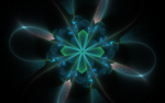 blue styled flower by Andrea1981G