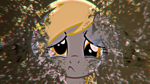 Crying Derpy by BronyYAY123