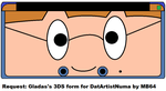 Gladas's 3DS form by MarioBlade64