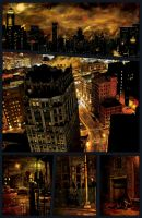 Gotham City in repose by DrewtheUnquestioned