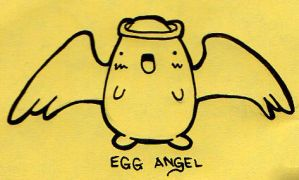 Egg Angel by Egglies