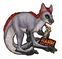 Bark Badge by KatieHofgard