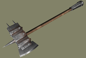 Industrial Battle Axe by Lusaen