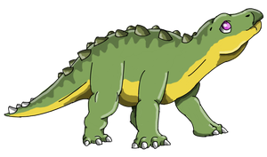 The Land Before Time: Spike by Alien-Psychopath