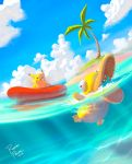 Pokemon Beach! by superpascoal