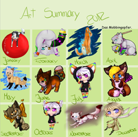 2012 in a little box. by oOCupcakeOo