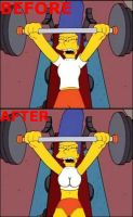 marge lifting comparison by cartoon-manipulator
