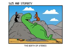 Stereo by Size-And-Stupidity
