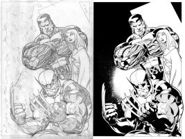 Wizard Cover Inks comparison by TomParrish