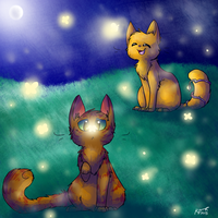 Fireflies Redone by Kitzophrenic