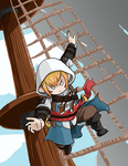 A Lalafell's Creed: Black Flag by bchart