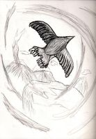 Bird in Surreal World by vrgraphics
