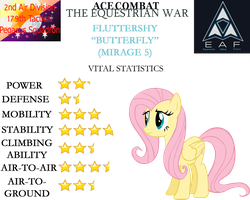 Ace Combat: The Equestrian War - Fluttershy by SonictheHedgehogPL