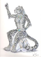 Snow Leopard Anthro by balaa