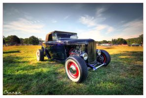 Ford Deuce Roadster by DennisChunga