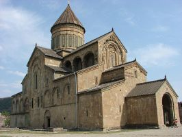 Cathedral in Caucasus by BricksandStones
