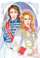 La Rose de Versailles by Hanew